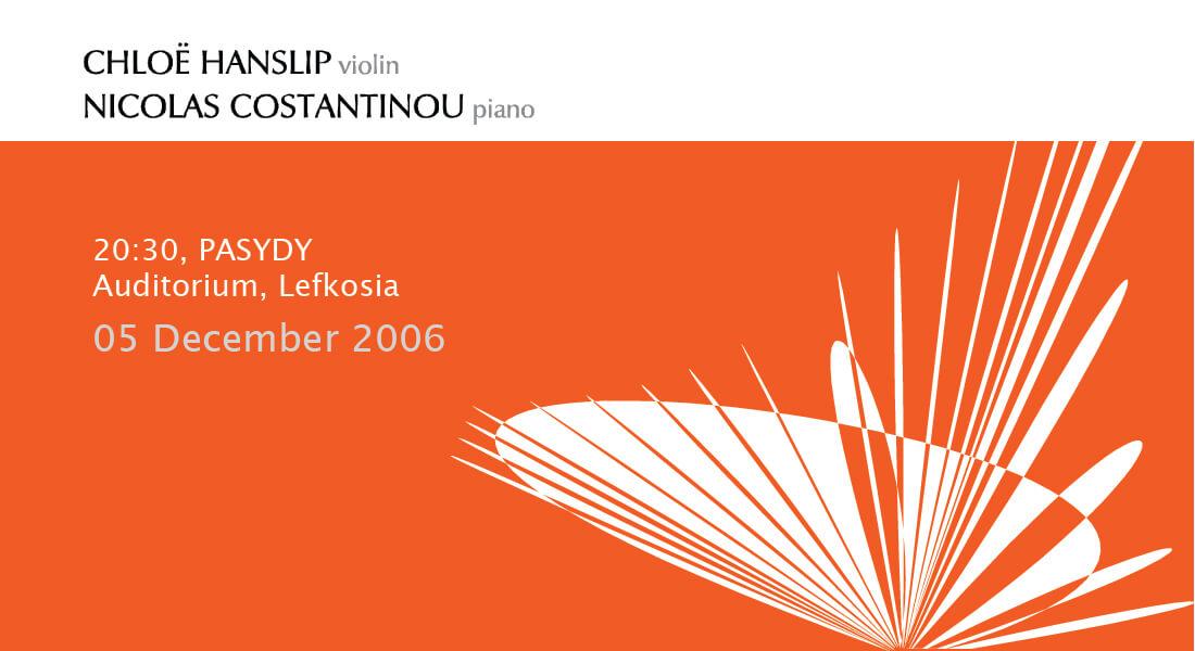 VIOLIN & PIANO 2006-01